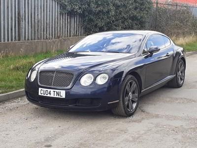 Lot 104 - 2004 Bentley Continental GT