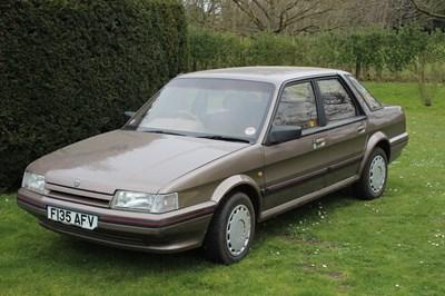 Lot 29 - 1989 Rover Montego 1.6 SL