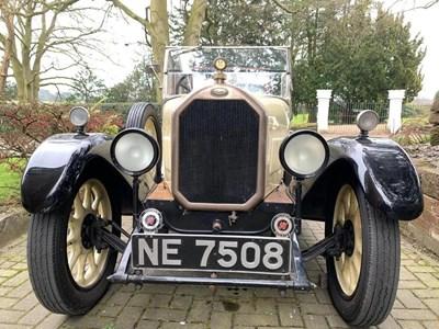 Lot 32 - 1926 Humber 9/20 Four-Seat Tourer