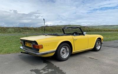 Lot 24 - 1974 Triumph TR6
