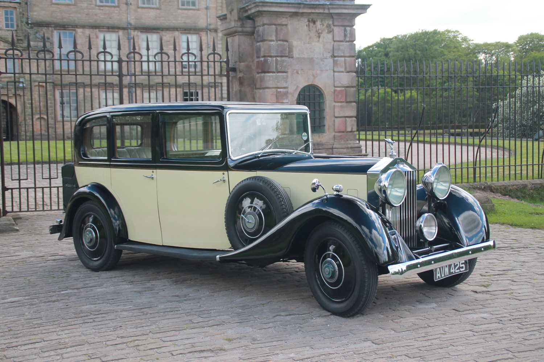 Lot 25 - 1934 Rolls-Royce 20/25 Limousine