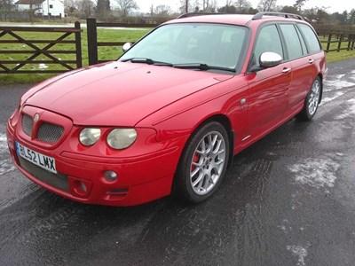 Lot 41 - 2002 MG ZT-T 180 Auto