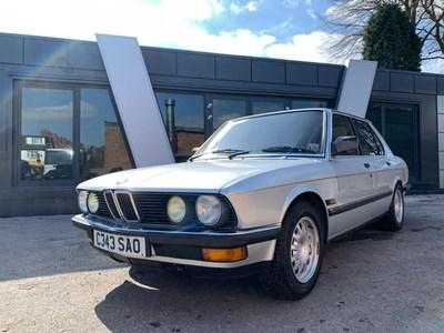 Lot 88 - 1986 BMW 520i