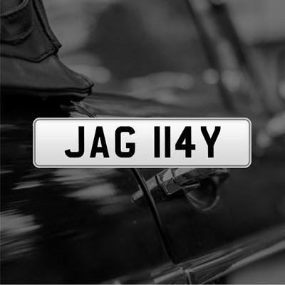 Lot 20 - Registration - JAG 114Y